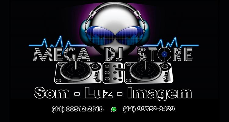 Logo Mega DJ Store
