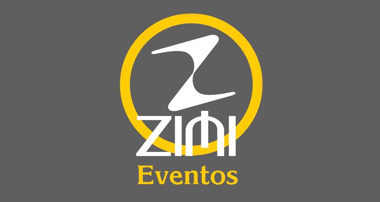 Logo Zimi Eventos e Brindes