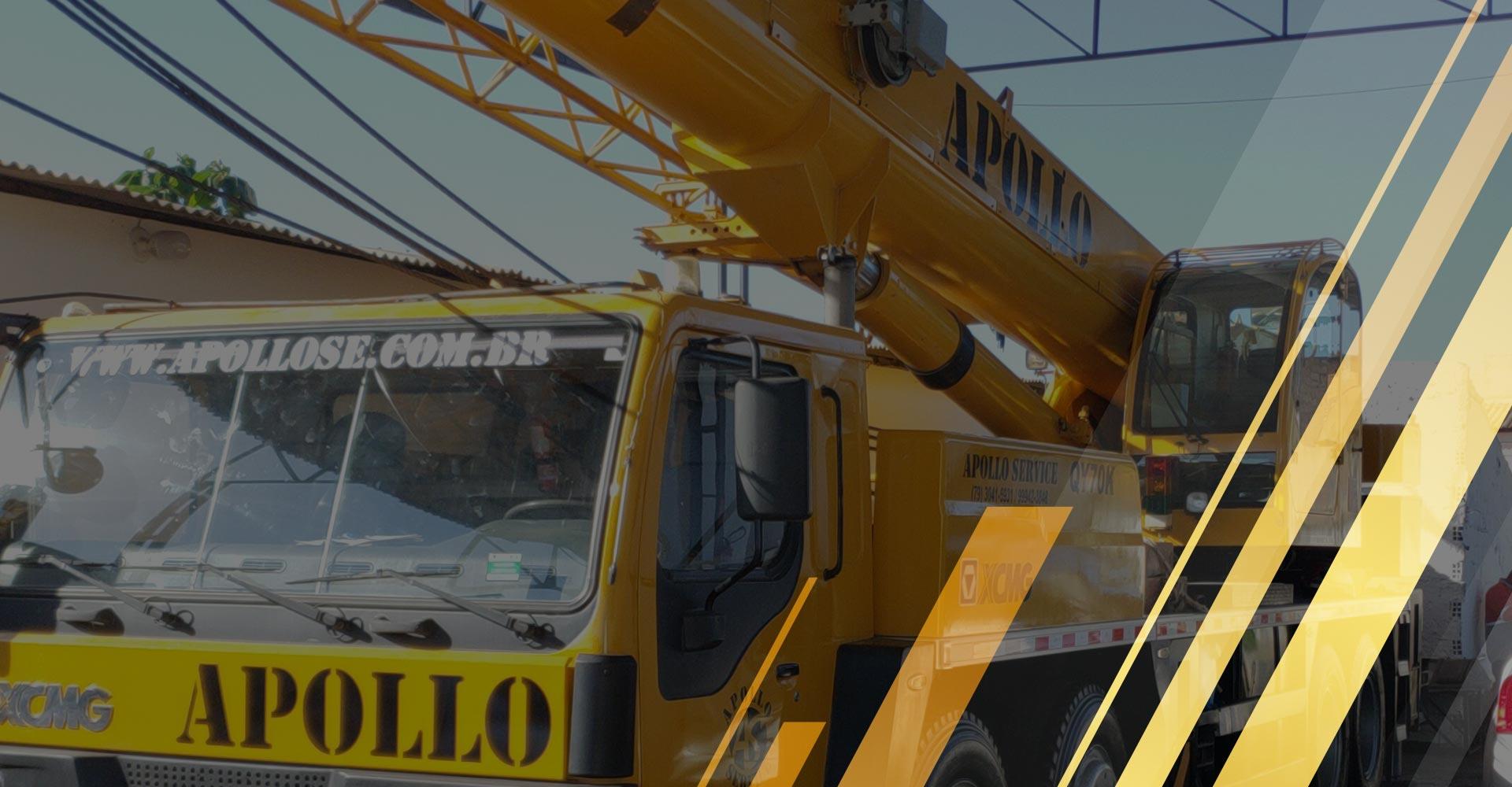 A Apollo Service oferece o melhor serviço de transporte e elevação de cargas de Aracaju e região.