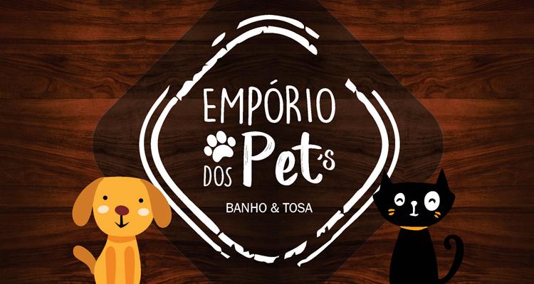 Logo Empório dos Pets Banho & Tosa