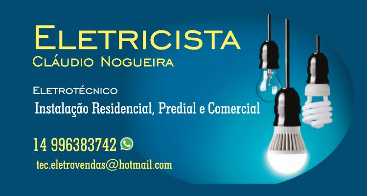 Logo Claudio Nogueira Eletricista