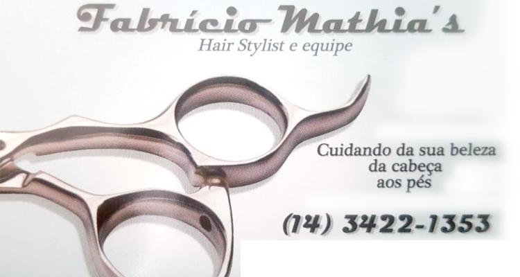 Logo Fabrício Mathia's Hair Stylist e Equipe