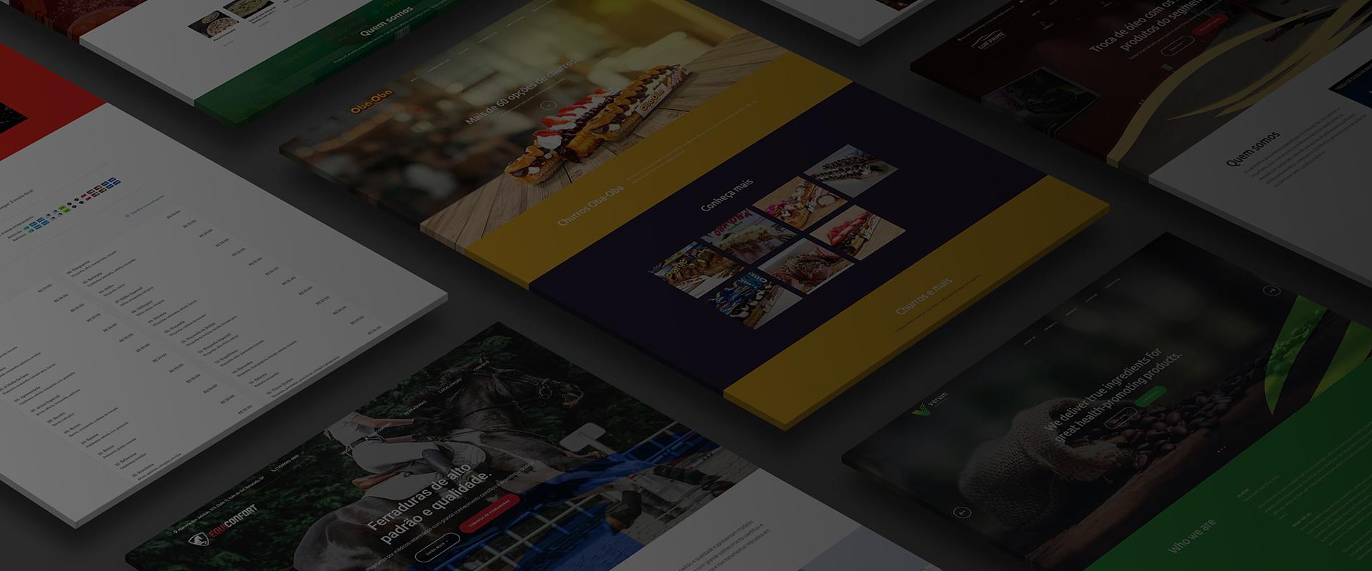 Você não precisa criar seu site.<br />Nós criamos pra você.