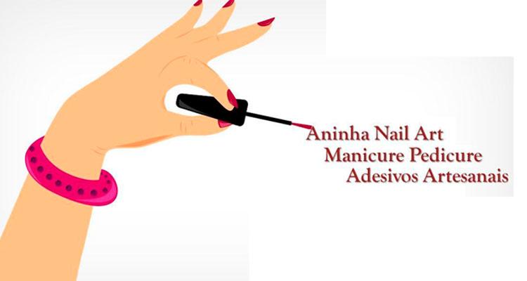 Logo Aninha Nail Art