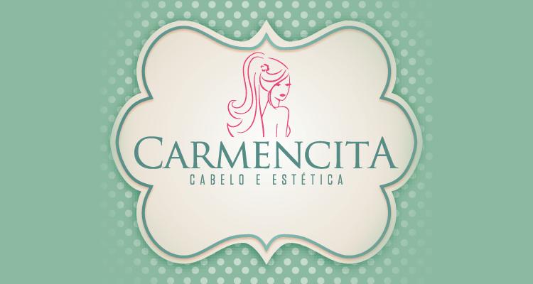 Logo Carmencita Cabelo e Estética