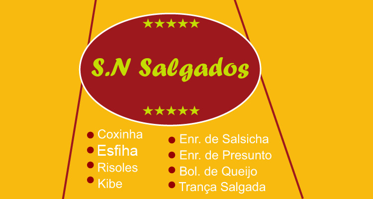 Logo SN Salgados