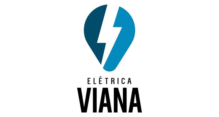 Logo Elétrica Viana