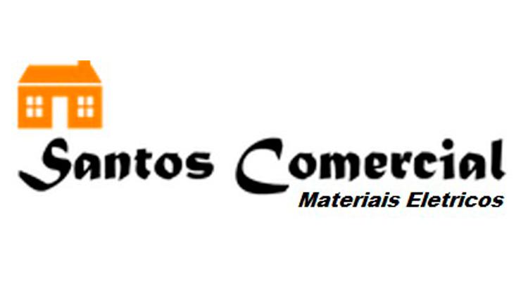 Logo Santos Comercial Elétrica