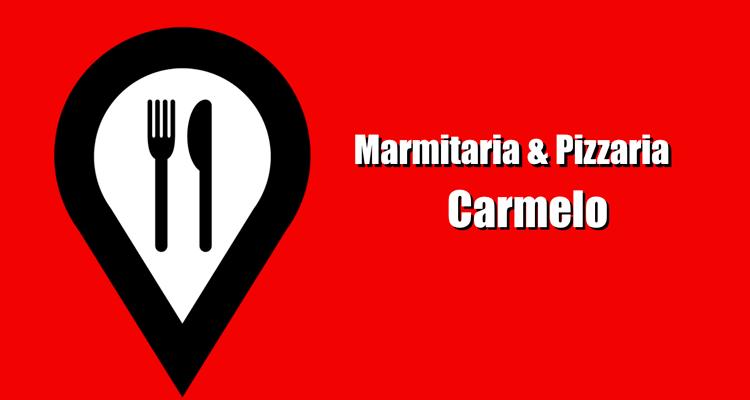 Logo Marmitaria e Pizzaria Carmelo