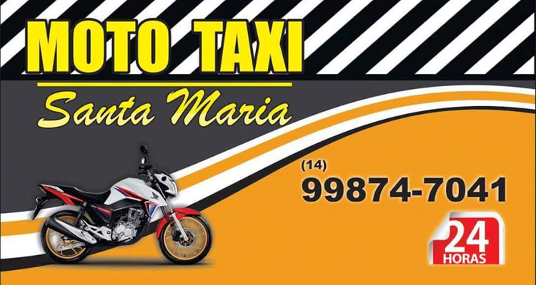 Logo Moto Táxi Santa Maria