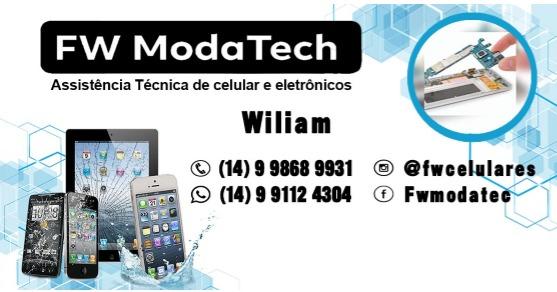 FW Modatech Conserto de Celulares, Eletrônicos e Venda de Acessórios