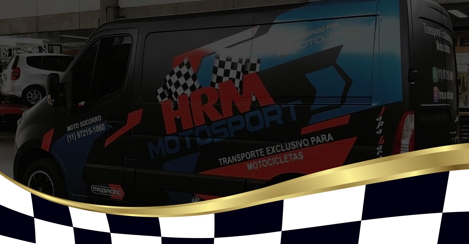 Na HRM MOTOSPORT realizamos o transporte da sua motocicleta com qualidade e total segurança.