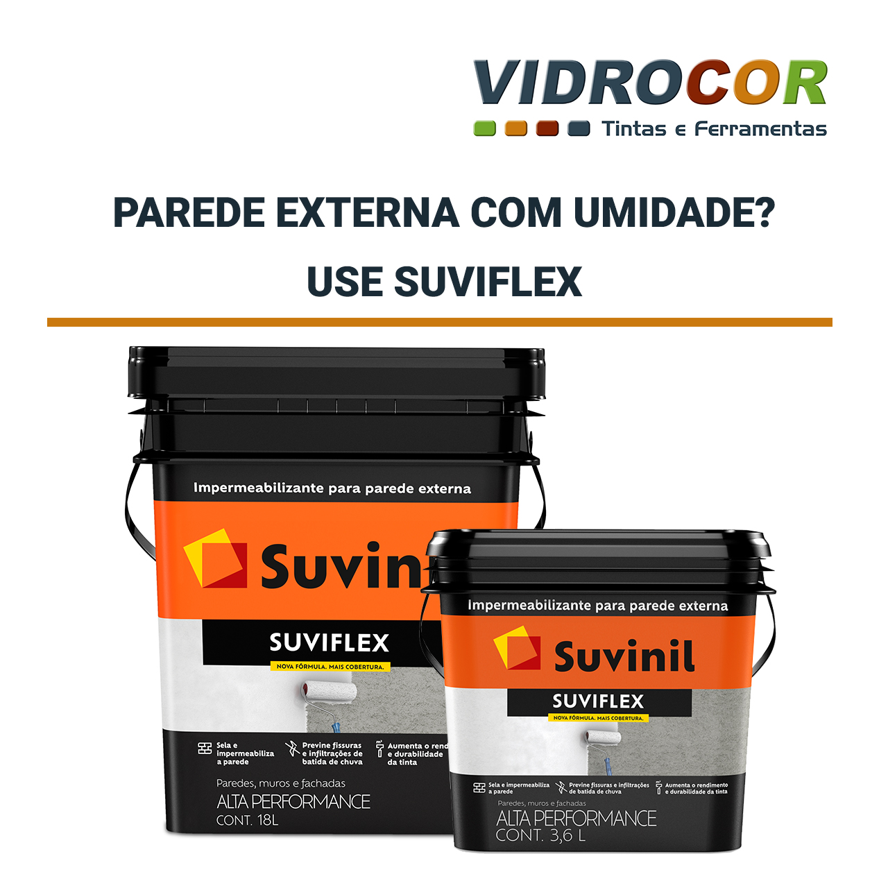 SUVIFLEX NA VIDROCOR LOJA DE TINTA