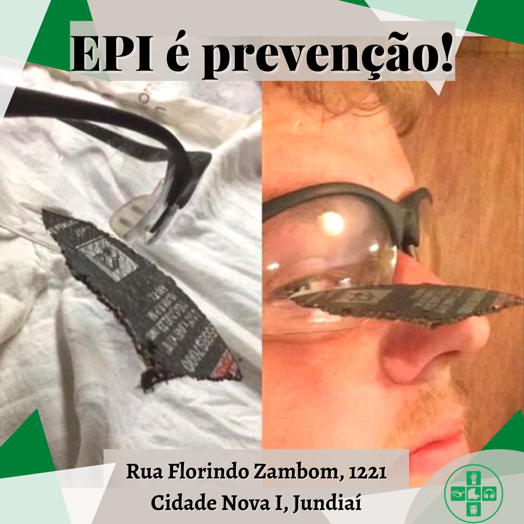 EPI é prevenção!