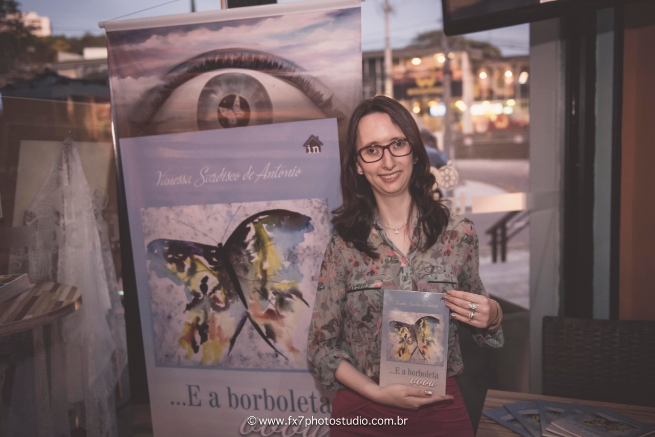 2018 Lançamento Livro E a Borboleta Voou