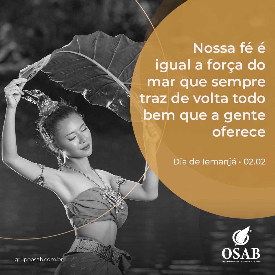 DIA DE IEMANJA - OSAB