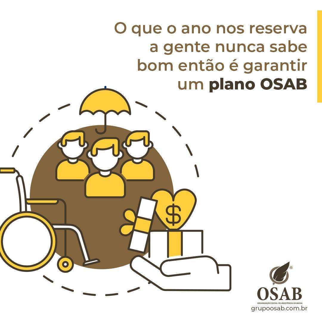 GARANTA O ANO COM COBERTURA OSAB