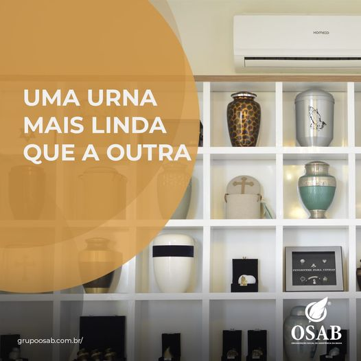 URNAS - CREMATÓRIO OSAB