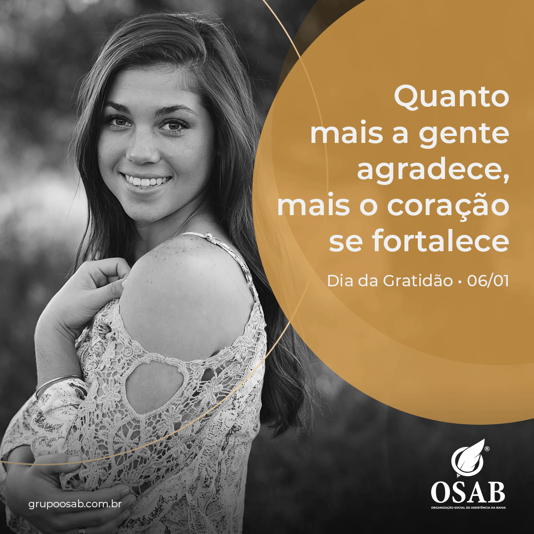 DIA DA GRATIDÃO - OSAB