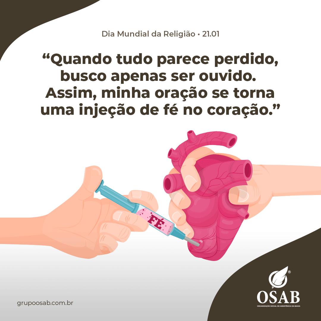 DIA DA RELIGIÃO - OSAB